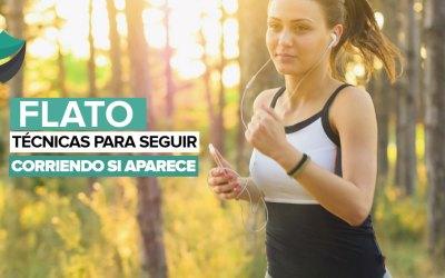 ¡No dejes de correr si tienes flato! Prueba estas técnicas