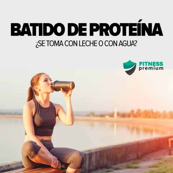 Batido de proteína