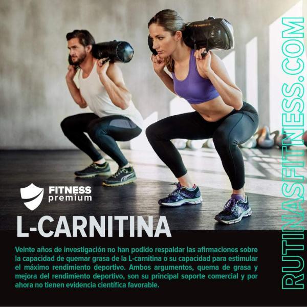 L-Carnitina no quema grasa