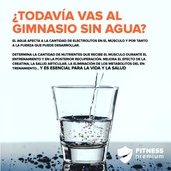 Hidratación y fitness