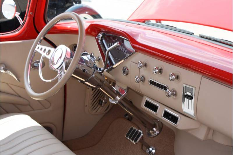 1955 Chevy Bel Air Green