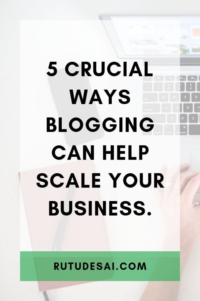 importance of a business blog