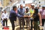 Alcalde Francisco Peña, realizó en el día de hoy un recorrido junto al Director de Corporación del Acueducto y Alcantarillado (CAASD)Ing. Alejandro Montas.