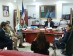 Alcalde Francisco Peña recibe visita de cortesía de la USAID