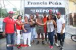Francis Peña apoya torneo de vitilla en el sector del Enriquillo de Herrera