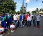 Gonzalo Castillo instruye operativos de fumigación en Santo Domingo Oeste