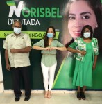 La exgenerala Juana Campusano pasan a poyar la candidatura de la aspirante a diputada Norisbel Uceta
