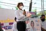 Manuela López presenta su proyecto Santo Domingo Oeste Posible