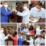 Alcaldía de Haina y Ministerio de la Juventud firman acuerdo para la instalación de la Casa de la Juventud