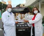 Doctora Seleyda Lorenzo dona medicamentos al Hospital Marcelino Vélez Santana