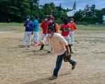 Regidor Vinicio Aquino sigue respaldando el deporte en SDO