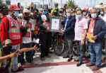 Alcalde Jiménez afirma trabajan para que la gente pierda miedo al motoconcho