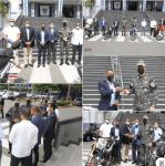 La Asociación Nacional de Distribuidores De Motocicletas ASODIMOTO dona 4 motocicletas a la Dirección de la Policía Nacional