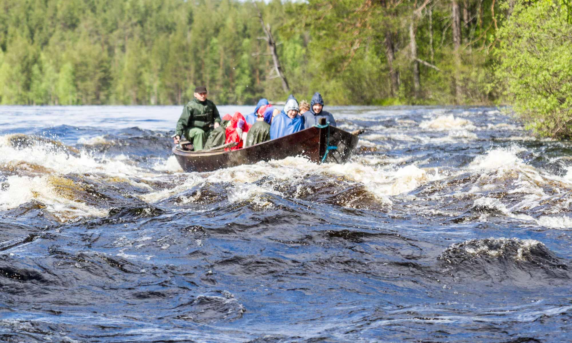 Ruunaa swooshing rapids
