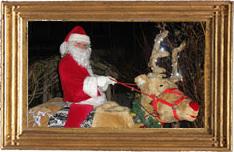 Kerstman en Rudolf