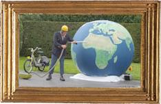 De Wereldwachter Ruut van Hooft Straat- +theaterproducties