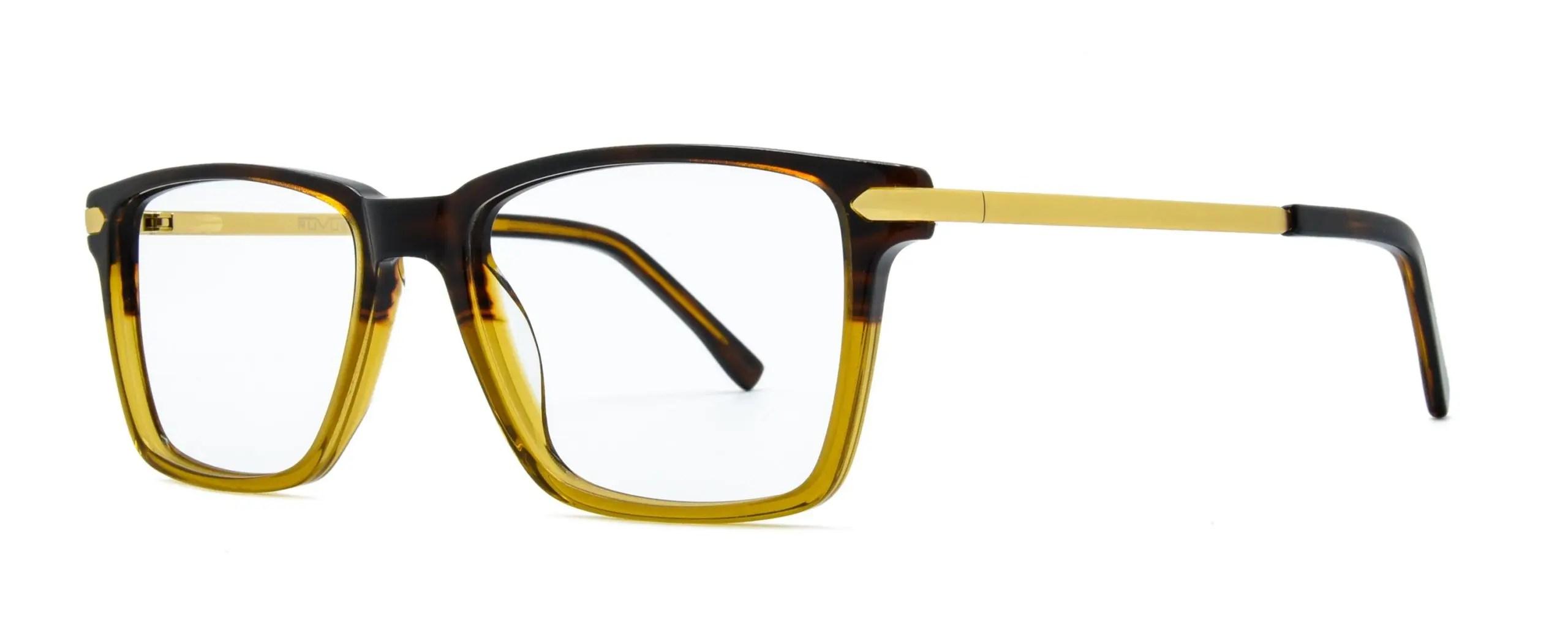 Thaddeus - Brown Stripe Gold - Angle