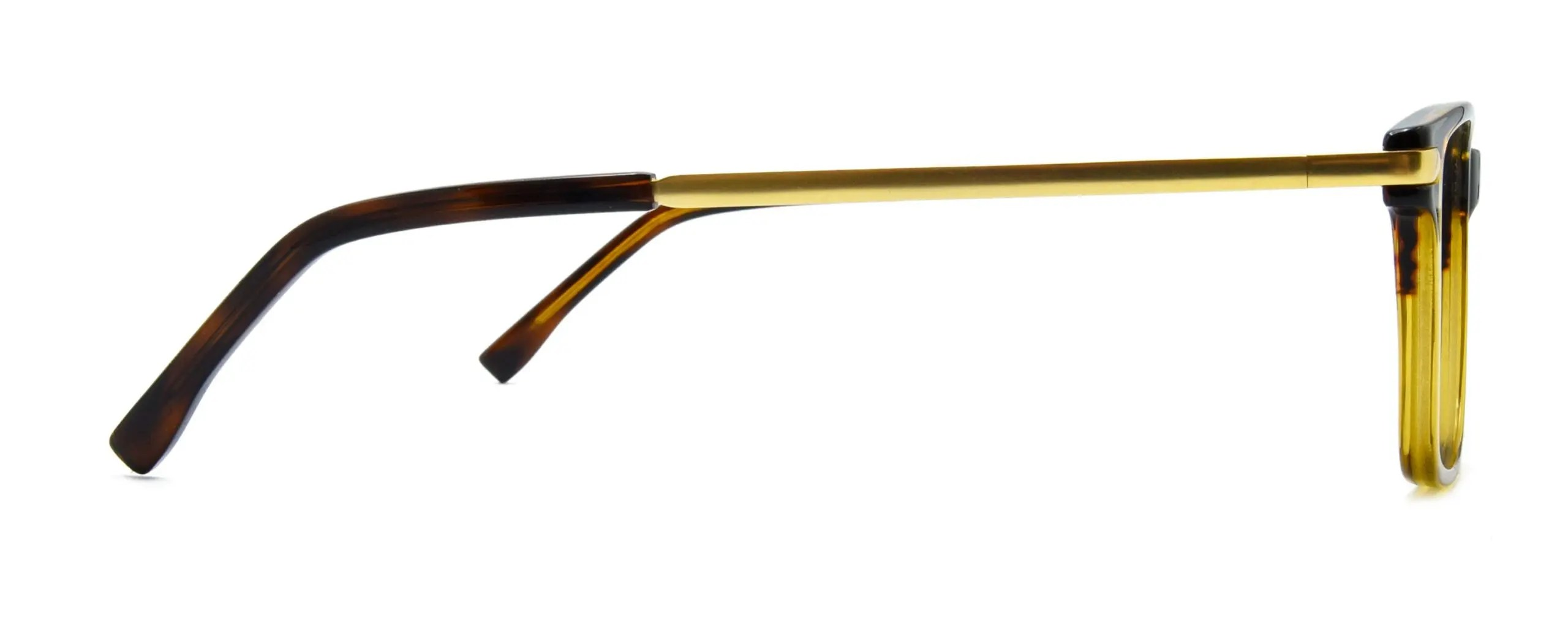 Thaddeus - Brown Stripe Gold - Side