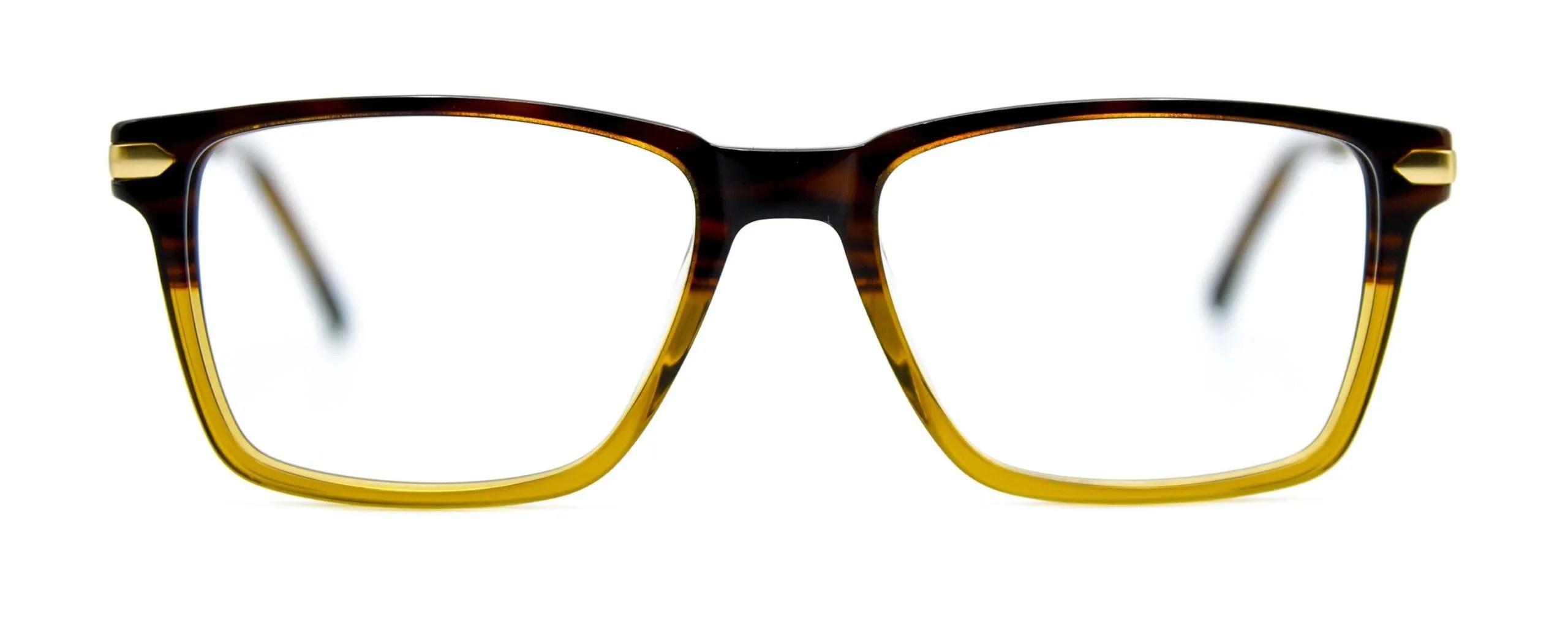 Thaddeus - Brown Stripe Gold - Front