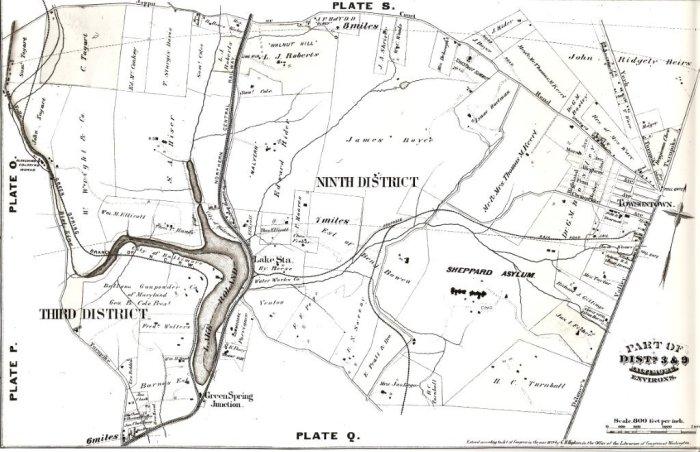 Hopkins Atlas 1877 of Baltimore County