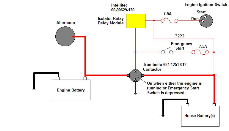 Where Is Battery Isolator Controller?