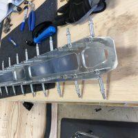 Rear spar put together