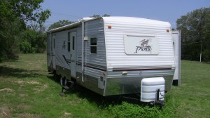 how to hitch a travel trailer - example trailer