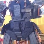 transformer robot made from legos in legoland florida