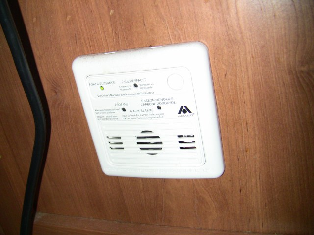 RV Carbon Monoxide and RV Propane Detector Alarm