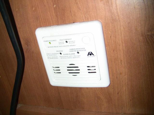 Rv Carbon Monoxide Detector And Propane Detector Don T