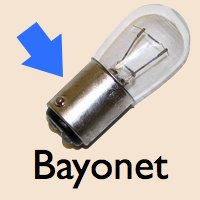 bayonet base RV LED light bulb example