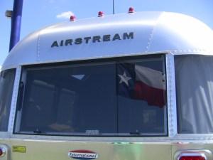 Airstream International Rear Window and Running Lights