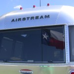Airstream International Rear Window and Running Lights