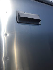 Airstream International Refrigerator Vent