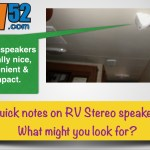 RV Stereo Speakers