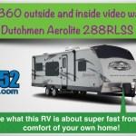 RV Review – Dutchmen Aerolite 288RLSS / 288RLSL Travel Trailer 2012