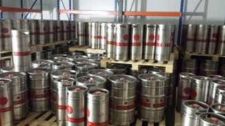 Kegs filled and ready for Saturday.