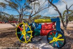 Entrance to the Kimba Historical Society and Museum. Kimba, South Australia.
