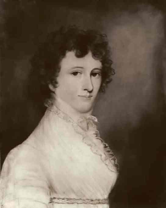 """(William & Mary Library) — portrait of Mary Willis Ambler """"Polly"""" Marshall"""