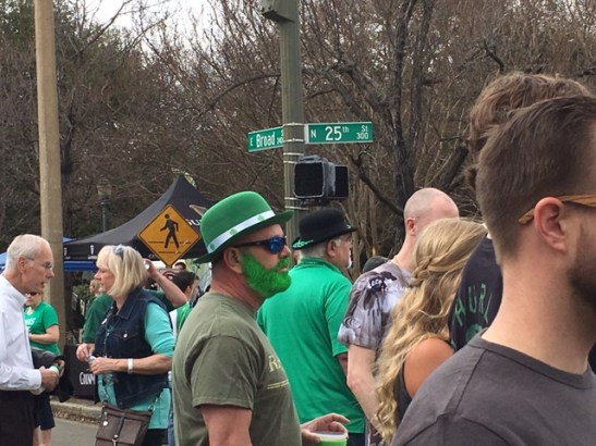 green beards at the festival