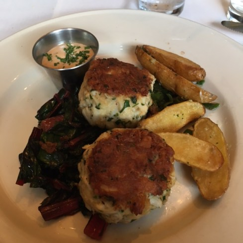 Old Ebbitt Grill crab cakes
