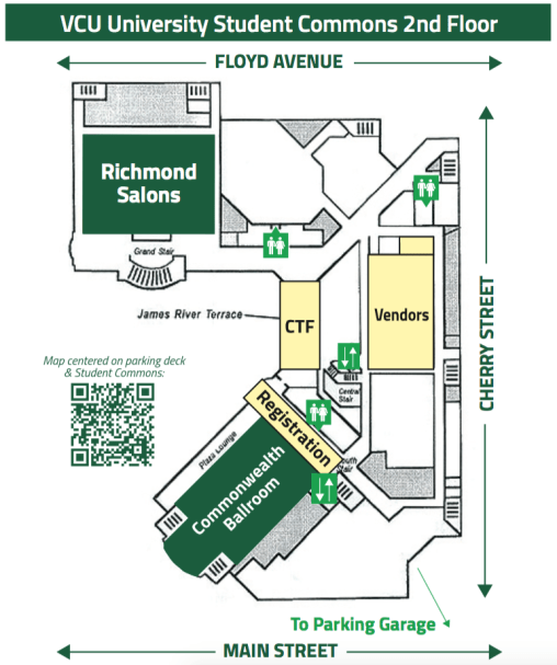 VCU Commons Floor Map