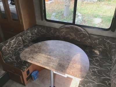 Laminate Dinette Table Top For RV Camper Or Trailer