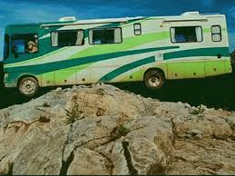 RV Funny Crash