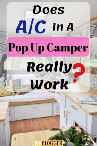 Does AC in a Pop Up Camper Really Work
