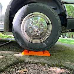 LEVELING BLOCKS to Level Your Truck Camper - RVBLOGGER