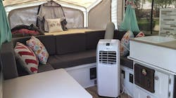 Portable AC In an RV