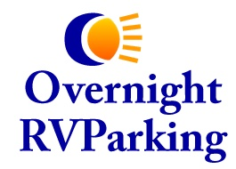 Overnight RV Parking Logo
