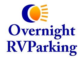 Overnight RV Parking Logo