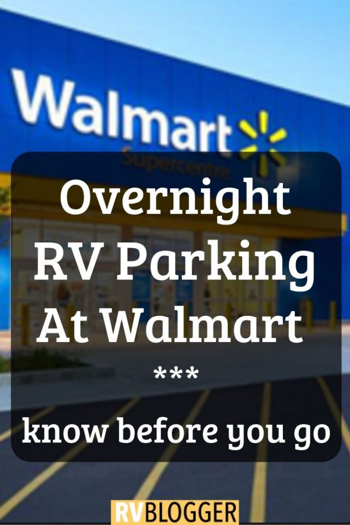 Overnight RV Parking At Walmart Know Before You Go